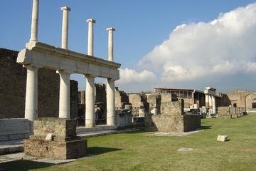 Pompeii and Vesuvius from Amalfi Coast