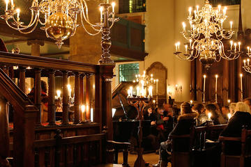 Portuguese Synagogue Candlelight...