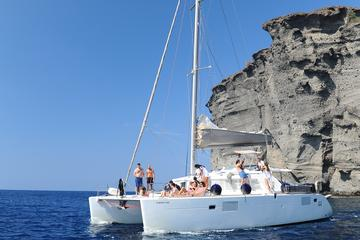 Sailing Cruise in Santorini to Red...