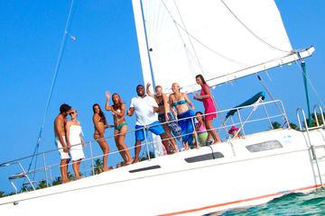 Cruzeiro de Catamarã de Punta Cana e aventura com snorkel