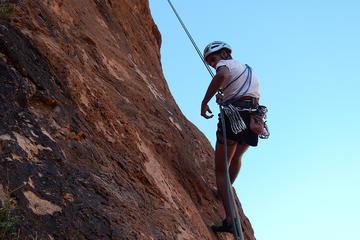 Le chemin des nomades ou le chemin du vertige avec descente en rappel...