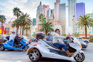 Downtown Las Vegas by Trike
