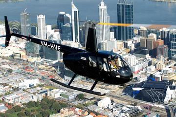 Hubschrauberrundflug über Perth von Hillarys Boat Harbour aus