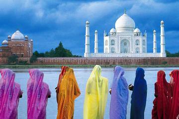 Escapada de un día al Taj Mahal, al Fuerte de Ag6ra y Mehtab Bagh...