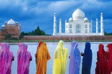 Excursión de un día al Taj Mahal, al Fuerte de Agra y Mehtab Bagh...