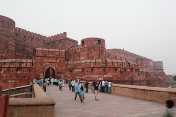 Excursión de un día al Taj Mahal, Mehtab Bagh y el Fuerte de Agra...