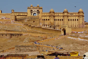 Full-Day Jaipur Tour visit Amber Fort and City Palace Including Lunch