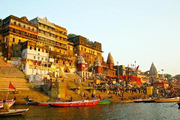 Private Day-Trip to Varanasi from New Delhi Including Return Flight