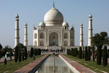 Taj Mahal Day Trip by Train from Jaipur Ending in Delhi