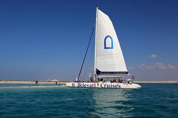 Inseltour mit Katamaran ab Abu Dhabi