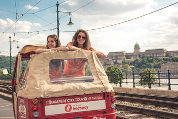 Budapest Danube Riverbanks Tuk Tuk Private Tour