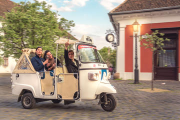 Budapest Private Tuk Tuk Tour with Wine Tasting and Cheese Platter