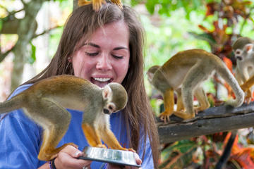 Monkeyland Safari and Zip Line Tour in Punta Cana