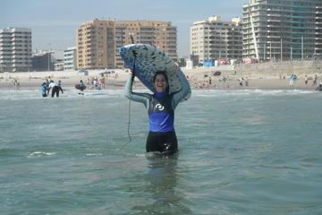 Excursión a la playa con surf desde Oporto