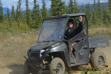 Day Trip Alaskan Back Country Side by Side ATV Adventure with Meal near Healy, Alaska