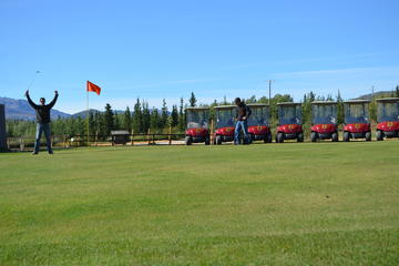 Day Trip Black Diamond Tundra Golfing Package near Healy, Alaska
