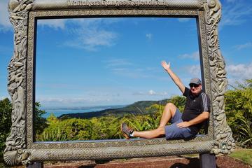 Excursion d'une journée à Piha Beach et dans la forêt tropicale