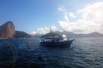 Besichtigungs-Bootstrip in die Bucht von Guanabara in Rio de Janeiro...