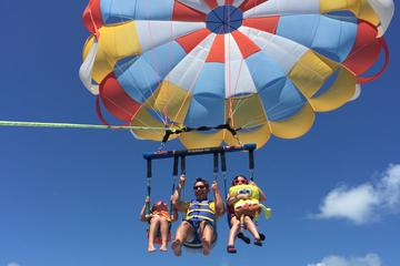 Parasail Flight in the Florida Keys