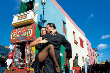 Super Saver: Buenos Aires Tour and 'Cafe de los Angelitos' Tango Show and Dinner