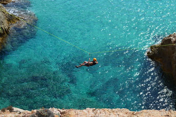 Half Day Professional Guided Coasteering Tour in Chia