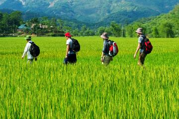 Trekking-Tour mit Übernachtung durch Mai Chau und Pu Luong