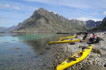 Kayaking Along the Coast of Lofoten...