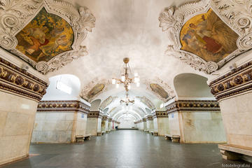 Underground Palaces: Moscow Metro Tour