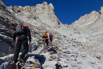 Olympus Hiking up to Mytikas 2918 Meters