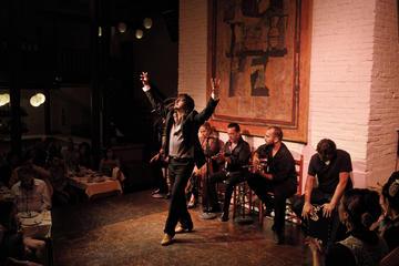 Show de flamenco à noite no Tablao de Carmen com jantar ou bebida
