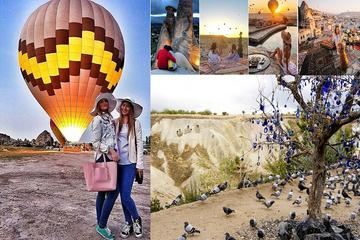 Cappadocia Day Tour from Istanbul Including Balloon Flight