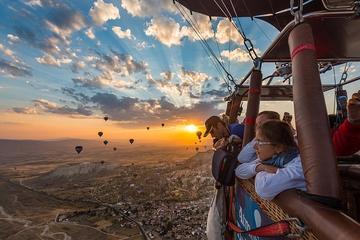 Voo de balão de ar quente pré-nascer...