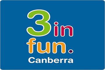 Passe para atrações 3infun Canberra...