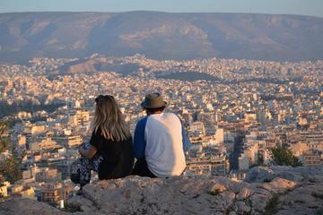 Avondwandeling door Athene