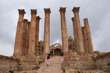 Full-Day Private Trip to Jerash Umm Qais and Ajloun Castle from Amman