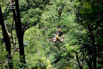 Aventure en tyrolienne à Phuket