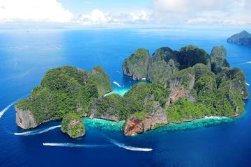 Phi Phi Island Trip by Cruiser from Phuket Including Buffet Lunch