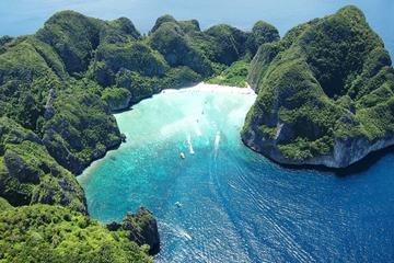 Visita a la isla Phi Phi en lancha motora desde Phuket