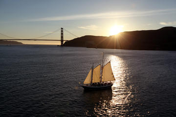 Day Trip Saturday Sunset Sail on the San Francisco Bay near Sausalito, California