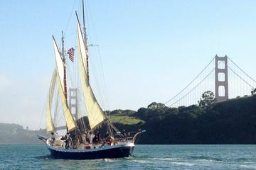 Day Trip Sunday Morning Eco Sail on the San Francisco Bay near Sausalito, California