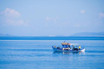 Santorini Yacht Fishing Tour