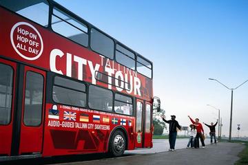 Bus rouge Tallinn, billet valable 24heures sur le circuit à arrêts...