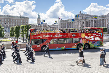 Stockholm Red Bus 72h Hop-On Hop-Off Ticket