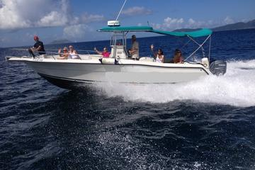 Private Powerboat Tour from St Thomas...