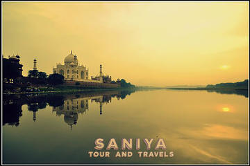 Boat Ride Behind the Taj Mahal  with sunrise or sunset view by Tuk Tuk Ride