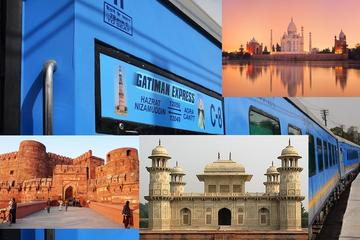 One Day Tour to Taj Mahal by Fastest Train