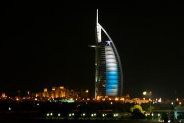 Dubai Night Life Tour Including Arabic Food and Drinks