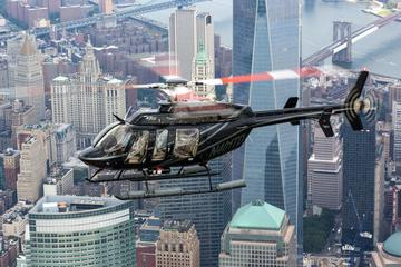Passeio de helicóptero em Nova York...
