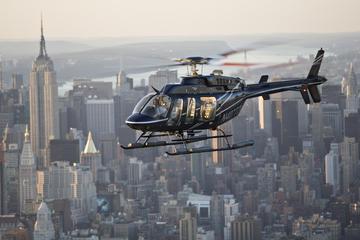 Tour en hélicoptère à New York...