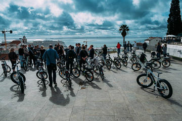 Historiska Lissabon: Guidad elcykeltur
